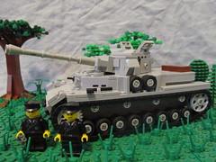 Panzer Crew (℣℩ƙ℩ℵℊ424) Tags: world 2 milan war tank lego 4 wwii ii armor ww2 custom iv uli axis panzer madge allies minifigure brickarms viking424 legouli