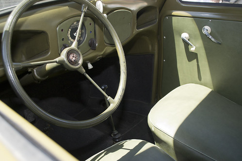 Interior, 1946 Volkswagen | Design Verner Panton | powered by tagwerc