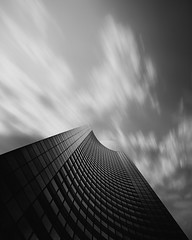 chaos, 2012 (p r i m e r) Tags: seattle longexposure blackandwhite building monochrome architecture clouds chaos wa