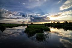 End of day (Jim Skovrider) Tags: sunset sky nature water denmark nikon tokina danmark randers guden colorefexpro randersfjord niksoftware adobephotoshoplightroom tokina1116mmf28 atx116prodx d5100 theriverguden nikond5100