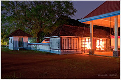 Madathikkavu Bhagavathi Temple - Kerala, India (Vineeth Mekkat) Tags: longexposure india night temple nightshot kerala mala banyan hindutemple southindia thrissur banyantree ambalam bhagavathy poopathy