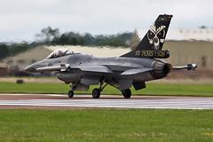 Fairford RIAT 2012 : Belgium air force F-16AM FA121 1 Sq. (Hermen Goud Photography) Tags: canon belgium belgie 2012 fairford riat spotters florennes 95years eos40d fa121 1sq 1sm