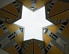 Kubuswoningen (by_irma) Tags: house architecture rotterdam blaak huis architectuur kubus woning kubuswoning rotjeknor pietblom paalwoning