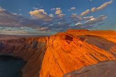 Sunset over Page (Photography by Steven Frudak) Tags: sunset arizona nikon bend page horseshoe 2012 wwwstevenfrudakcom