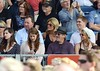 Steven Spielberg with his wife and family watch Bruce Springsteen perform at The RDS Dublin, Ireland