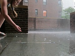 The Great and Fearsome NYC Storm of Mid-July 2012: Hail yeah! (Scoboco) Tags: eastvillage rain hail gothamist lightning thunder nycstorm nycthunderstorm nychailstorm nycjuly18storm