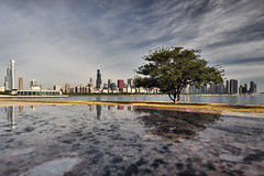 A Nice Summer Morning in Chicago (Seth Oliver Photographic Art) Tags: chicago reflections landscapes iso200 illinois nikon midwest downtown skyscrapers searstower cityscapes lakemichigan southloop pinoy downtownchicago sheddaquarium chicagoskyline urbanscapes secondcity windycity chicagoist cityskylines d90 cityofbigshoulders sooc aperturef100 manualmodeexposure willistower setholiver1 incameratrim circularpolarizers 1024mmtamronuwalens 1200secondexposure reflectionsongranite