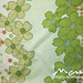 Vintage duvet cover - green