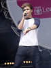 Liam Payne of One Direction Party in the Park 2012 at Temple Newsam Park Leeds, England
