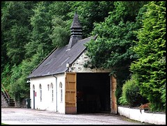 The Engine Shed. (Kingfisher 24) Tags: trees wall scotland whisky moray carron engineshed dailuainedistillery