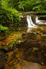 Lynn Glen falls (Ayrshire & Arran Photo (Richard Cottrell)) Tags: longexposure water river landscape scotland glen lynn dalry ayrshire ndfilter