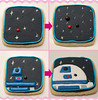How To Make R2D2 Cookies (sugarkissed.net (Janine)) Tags: cookies starwars yoda r2d2 icing decorated sugarcookies royalicing