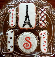Parisian Themed 1st Birthday