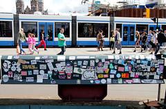 stickers (wojofoto) Tags: stickers stickerart streetart amsterdam cs wojo wojofoto wolfgangjosten sticker slaps