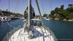 Galopin Enters The port (Sailor Alex) Tags: sailing windedvoyage yacht sailingvessel sail minorca balearic spain island boating sailboat travel discovery