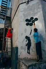 *** (ramisnazmiev) Tags: girl boy grafitty beautiful portrait