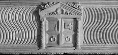 black & white quirinale  (5) (canecrabe) Tags: sarcophage porte saintpaul within walls rome glise piscopalien