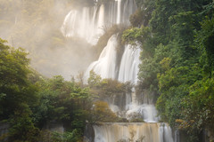 Tee Lor Su (khunballang) Tags: waterfall landscape nature thailand travel fresh background