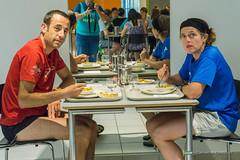 Pasta party (Ut4M) Tags: coureur ut4m2016 photographe grenoble ut4m palaisdessports bnvoles