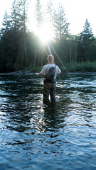 Just around the river bend (spencer.matches) Tags: river bend fishing fly trout water sunshine summer fish rod trees washington snoqualmie cast kast northwest pnw