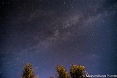Couple of meteors (Massimiliano Pilotto) Tags: meteor night light august tress milky way sky atmpshpere nikon d5200 stars planets universe sumer tokina 11mm