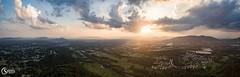 Aerial Panorama of Roanoke Virginia (Michael Speed) Tags: aerialphotography aerialpanorma djiphantom3professional michaelspeed blueridgeparkway roanoke