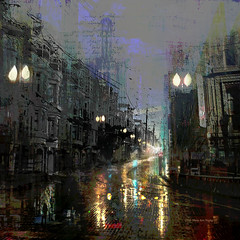 Belief Systems (Stacy Ann Young) Tags: photocomposite cityscape sanfrancisco dreamworld digitalart