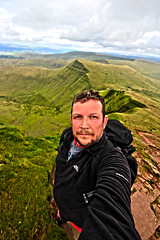 Mountain selfie (Andyorf) Tags: andyorf canon 600d sigma1020 sigma breconbeacons penyfan