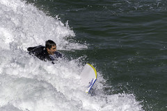 Hey Get Back Here! (punahou77) Tags: boogieboard bodyboard surfing pismobeach pismobeachpier california ocean water nikond7100 punahou77 pacificocean stevejordan pier waves wave