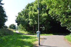 Kilmarnock-Irvine Cycle Path. Which Way. (Phineas Redux) Tags: kilmarnockirvinecyclepath ayrshirecyclepaths ayrshire scotland sustranscyclepathno73