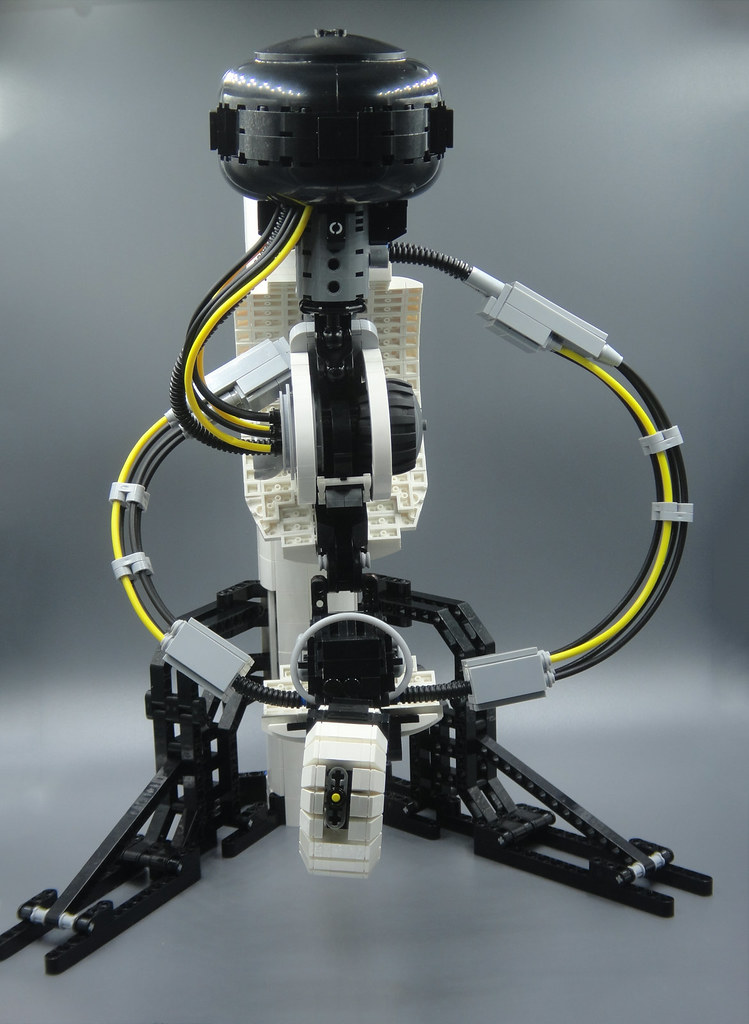 How To Build Lego Glados