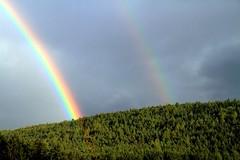 I colori della pioggia (Mattia Camellini) Tags: natura nature altoadige sudtirol arcobaleno rainbow sky mattiacamellini canoneos7d soligor2835mm m42 dolomites unescoworldheritage