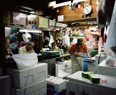 Untitled (Kyle Pozan) Tags: f4 65mm mamiya 120film mamiya7 mamiya7ii film shootfilm shootfilmnotmegapixels filmphotography ishootfilm ektar ektar100 japan tokyo tsukiji tsukijifishmarket fishmarket fish seafood