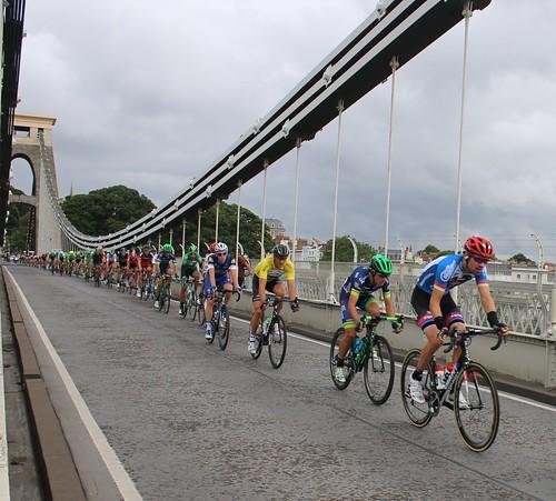 Clifton Suspension Bridge, Tour of Britain Cycling 2016