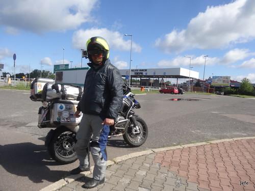 In the border station Poland - Belarus...