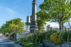 1821  King George IV Monument [Dun Laoghaire, Co. Dublin]-120983 (infomatique) Tags: dnlaoghaire countydublin ireland seasideresort harbour port williammurphy infomatique zozimuz fotonique sony a7rm2 fepz28135mmf4gosslens kinggeorgeiv monument