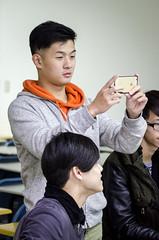 Back to Asia University-4 (Enix Xie) Tags: taiwan taichung travel trip journey life enjoy streetsnap street people wufeng 亞洲大學 亞大 asiauniversity 攝影社 photographyclub student nikon nikond7000 d7000 小小黑 70200 70200f4 nikkorafs70200mmf4gedvr apple iphone iphone6 club
