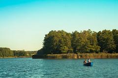 IMG_0285 Enjoy your day (Sakuto) Tags: fish fishing stick tree lake water landscape peaceful blue aqua green nature sharp detail boat view outdoor vehicle
