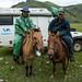 Visitas no acampamento