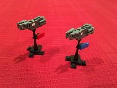 Kovian Frigates (Official Regal) Tags: microspacetopia game space microscale microspace frigate lego