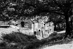 Mill House, Dunham Massey (MCorrigan1983) Tags: jch400 streetpan 2016 bw dunhammassey jchstreepan400 nikkor50mmf14ais nikonfe2 millhouse mill