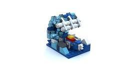 Lego Mini Voltron(GoLion) Base (minimal_aya) Tags: lego voltron golion base