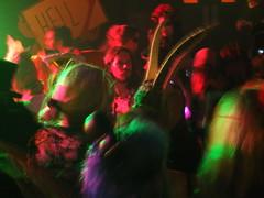 Mischief Makers (failing_angel) Tags: 311015 london camden kingscross scala halloween whitemischief cabaret burlesque music gig heaven hell