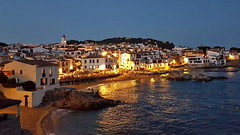 Costa Brava Calella de Palafrugell blue hour (gerard eder) Tags: world travel reise viajes europa europe espaa spain spanien costabrava mediterraneo mediterranean catalua catalonia katalonien calelladepalafrugell beach strand playa verano summer sommer bluehour sunset night nacht abend evening panorama outdoor