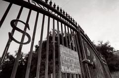 Exa 1C Spadra Cemetery 1 () Tags: vintage retro classic film camera losangeles california riverside history west coast architcture eastgerman ddr gdr exa dresden slr 35mm black white bw kodak tmax m42 abandoned cemetery