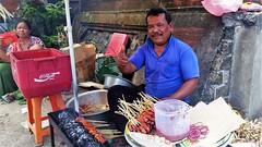 Gajah Mada Road (SqueakyMarmot) Tags: travel asia indonesia bali 2016 denpasar gajahmadaroad hawker streetfood