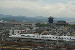 DSC03889 (Alexander Morley) Tags: japanese railway society japan trains jr kyoto museum umekoji steam loco 700 series shinkansen west