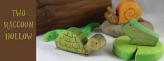 Pond Friends (kris10dale) Tags: handmade waldorf etsy woodentoy naturaltoy tworaccoonhollow