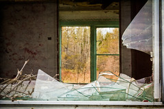 Beyond repair (Nancy Rose) Tags: old house abandoned broken window glass unsafe rundown beyondrepair