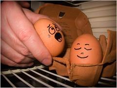 Going away (eyesore9) Tags: fridge hand faces fear refridgerator eggs shock goingaway sbexpo